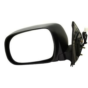 Power Mirror For 2005 2011 Toyota Tacoma Driver Side Textured Black