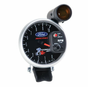Ford Racing 2010 2012 Mustang Super Cobra Jet Tach Autometer 880281 M 17360 scj