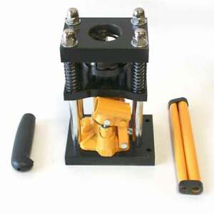Manual Benchtop Hydraulic Jack Air Hose Crimper 1 4 To 5 16 H10 4
