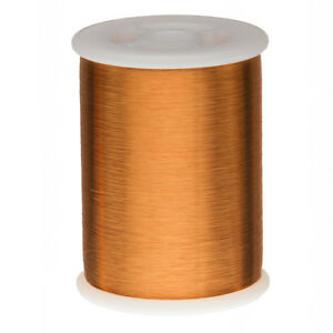 43 Awg Gauge Heavy Formvar Copper Magnet Wire 0 75 Lbs 47378 0 0026 105c Amber