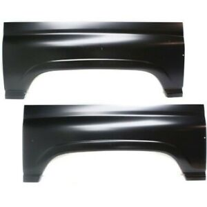 Wheel Arch Repair Panel Pair Set 2pcs Left And Right For Dodge Ram Truck Pickup