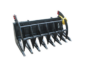 New Usa 72 6 Tractor Grapple Fork Root Rake Bucket For John Deere Compacts