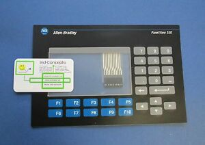 Allen Bradley 2711 k5a And 2711 b5 Panelview 550 Keypad Replacement Membrane