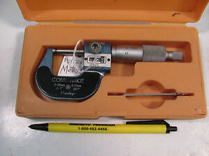 Sb262e Mituoyo Micrometer Model 159 101 0 25mm Range With 001 Digital Readout