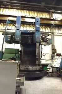 71 Schiess dke 180 Double Column Vertical Boring Mill 27112