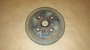 87 95 Camaro Firebird V6 3 4 2 8 3 1 Lower Crank Serpentine Belt Pulley 14100594