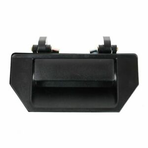 Black Tailgate Tail Gate Handle For Nissan Frontier D21 Hardbody Pickup Truck
