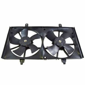Dual Radiator Cooling Fan W Motor New For 02 06 Nissan Altima 2 5l
