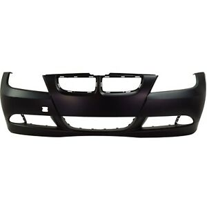 Front Bumper Cover For 2006 Bmw 325i W Fog Lamp Holes 2007 2008 328i Primed