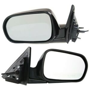Set Of 2 Mirror Power For 1998 2002 Honda Accord Left And Right Manual Folding