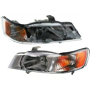 Headlight Set For 99 2002 2003 2004 Honda Odyssey Left And Right 2pc