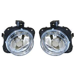 Set Of 2 Clear Lens Fog Light For 2002 05 Mitsubishi Eclipse Lh