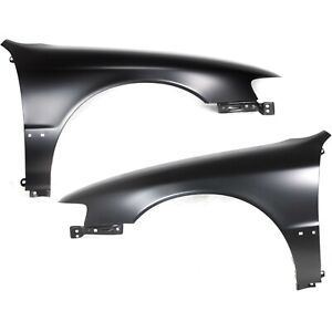 Fender For 94 97 Honda Accord 4cyl Set Of 2 Front Driver Passenger Steel