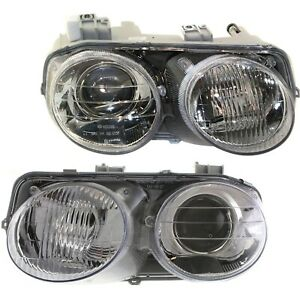 Halogen Headlight Set For 1998 2001 Acura Integra Left Right Pair