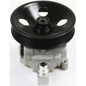 Power Steering Pump For 2000 2006 Mercedes Benz S430 S500 W Pulley