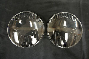 E j Edmunds Jones New Identical To Original Glass Reproduction Headlight Lens
