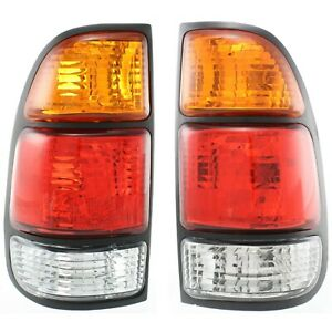 Set Of 2 Tail Light For 2000 2006 Toyota Tundra Lh Rh W Bulb s