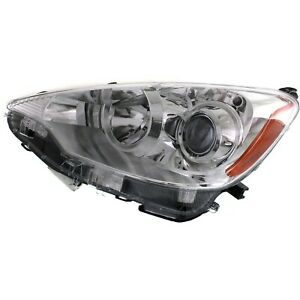 Headlight For 2012 2013 2014 Toyota Prius C Four Three Two One Left With Bulb