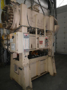 Clearing 100 Ton Straight Side Double Crank Press