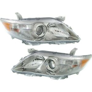 For 2010 2011 Toyota Camry Headlights Lamps Light Replacement Left Right 10 11