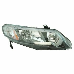 Headlight Headlamp Passenger Right Rh For Honda Civic Hybrid