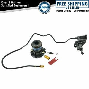 Hydraulic Lines Clutch Slave Master Cylinder Kit For Bronco F150 F250 Pickup