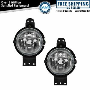 Factory Installed Fog Driving Light Pair Set For 11 13 Mini Cooper Countryman