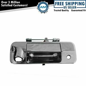 Tailgate Tail Gate Handle Chrome W Rear View Camera Hole For Toyota Tundra