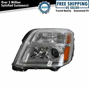 Headlight Headlamp Driver Side Left Hand Lh Lf For 10 13 Gmc Terrain