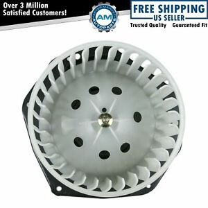 Heater Blower Motor W Fan Cage For Chevy Gmc Pickup Buick Pontiac Olds Truck