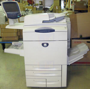 Xerox Workcentre 7655 Color Laser Multifunction Printer Scanner Copier 7665 7675