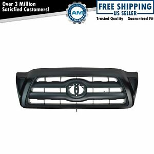 For 2005 2006 2007 2008 2009 2010 Toyota Tacoma Grille Smooth Black Paintable