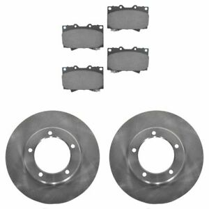 Front Ceramic Brake Pad Rotor Kit For 98 07 Lexus Lx470 Toyota Land Cruiser