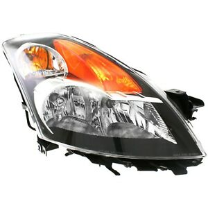 Headlight For 2007 2008 2009 Nissan Altima Sedan Right With Bulb