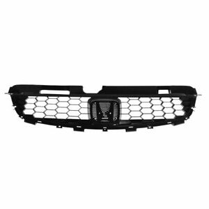 Black Front Grille Grill For 04 05 Honda Civic 2 Door Coupe