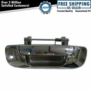 Tailgate Tail Gate Handle Chrome Rear For Dodge Ram 1500 3500 2500