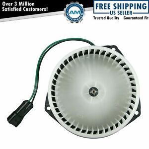 Heater Blower Motor W Cage New For Jeep Cherokee Comanche Wagoneer