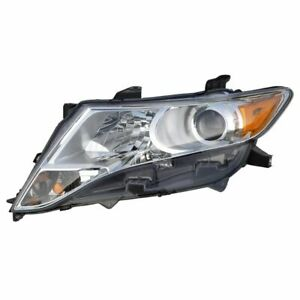 Halogen Headlight Headlamp Driver Side Left Hand Lh For 09 13 Toyota Venza