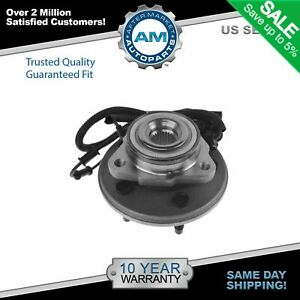 Front Wheel Hub Bearing For Aviator Mountaineer Explorer 4 Door W Abs