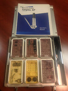 Refurbished Bausch Lomb Zyoptix Xp Microkeratome Tray With Motor Heads