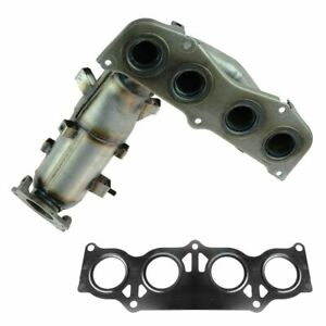 Exhaust Manifold W Catalytic Converter For 02 06 Toyota Camry Solara 2 4l