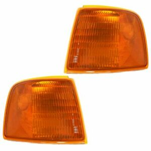 Corner Parking Turn Signal Light Lamp Left Right Pair Set For 93 97 Ranger