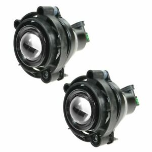 Fog Driving Lights Lamps Pair Set For Buick Cadillac Chevy Gmc Pontiac Saturn