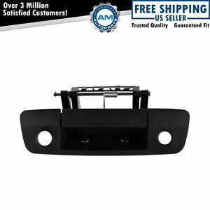 Tailgate Handle Black Textured Camera Provision For Dodge Ram 1500 2500 3500