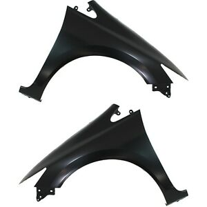 Fender For 2012 2015 Honda Civic Set Of 2 Front Driver Passenger Primed Steel
