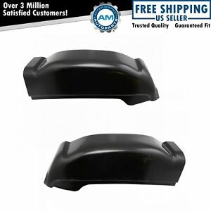 Rear Corner Repair Panel Pair Set For Silverado Sierra Pickup Extended Cab
