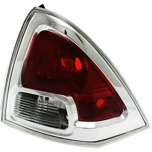 Tail Light For 2006 2009 Ford Fusion S Rh Clear Red Lens Capa