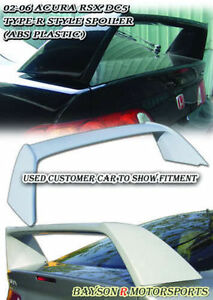 Tr Style Rear Trunk Spoiler Wing Abs Fits 02 07 Acura Rsx Dc5