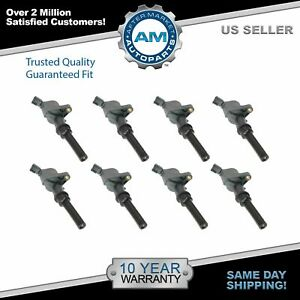 Engine Ignition Coil Kit Set Of 8 New For Ford Lincoln Mercury 4 6l 5 4l V8