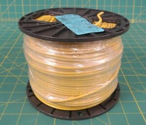 Encore Thhn 12 Awg Yellow Copper Wire P n 106100806440 500 Ft Spool